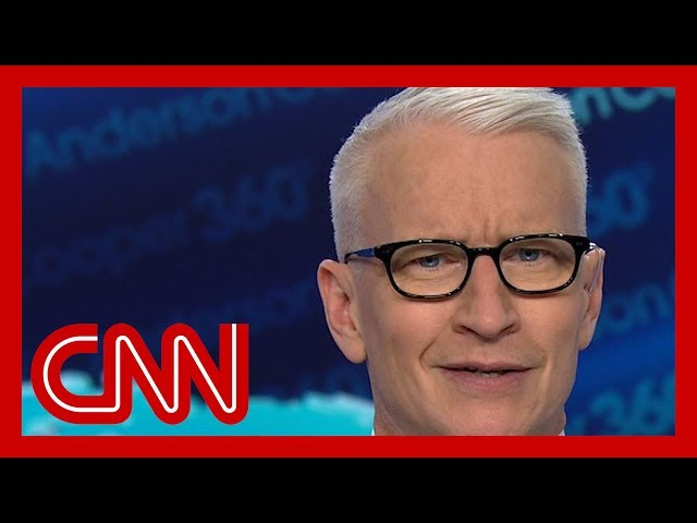 Anderson Cooper mocks Trump's 'best and brightest' thumbnail