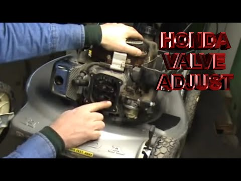 Lawn Mower Repair Valve Adjustment