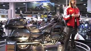 Emilio Scotto & The Black Princess II - 自転車で世界一周 - ホンダゴールドウィング