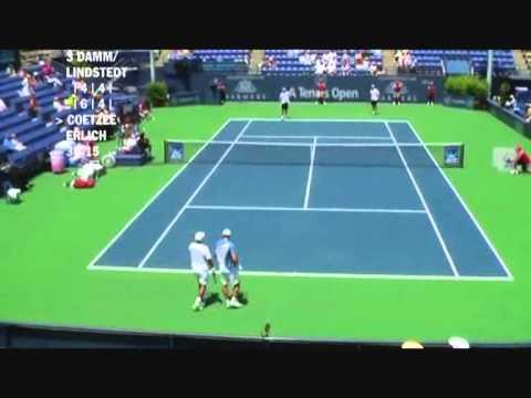 Damm & Lindstedt vs Coetzee & Erlich - Los Angeles 2009 (7 de 8)