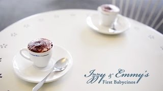 Twin Photography - Izzy and Emmy's First Babycinos Katrina Christ