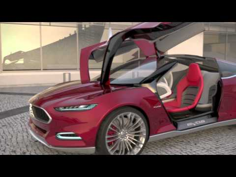 Ford EVOS Concept - Door Functionality