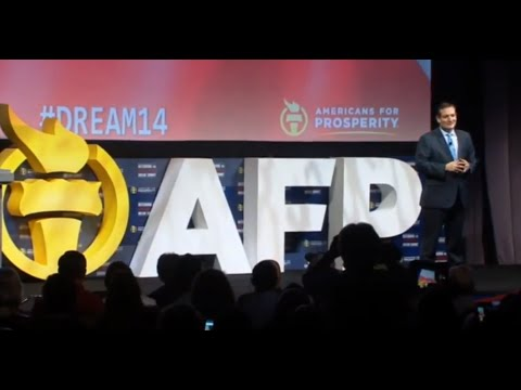Sen. Ted Cruz at Americans for Prosperity's Defending the American Dream Summit