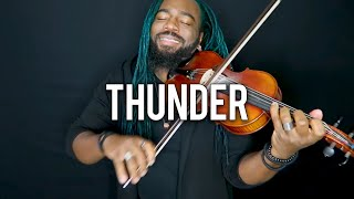 Download Lagu DSharp - Thunder (Violin Cover) | Imagine Dragons Gratis STAFABAND