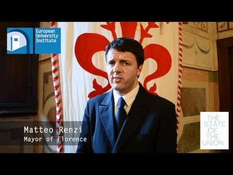 The State of the Union 2012 - Matteo Renzi Live Interview