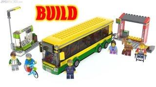 Time lapse ⏩ LEGO City 2017 Bus Station 60154