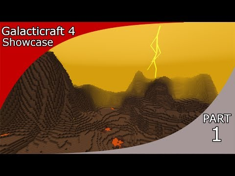 Galacticraft 4 Showcase Part 1!!!