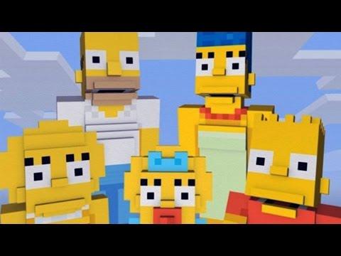 MINECRAFT - Les Simpsons DLC