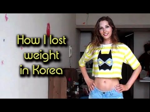 How I lost weight in Korea