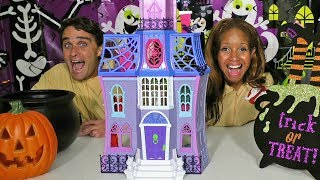 HALLOWEEN PARTY!!! Coco & Vampirina Toy Challenge!! || Disney Toy Review || Konas2002