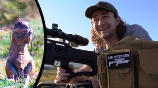 """More PCP Airgun Ground Squirrel Hunting - """"Hit & Miss"""" with Huben K1 and FX Impact"""