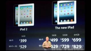 The New iPad Prices ( iPad 3 )