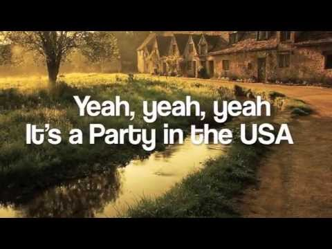 Party in the USA-The Barden Bellas-Pitch Perfect-Lyrics