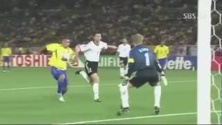 Ronaldo vs Germany 2002 World Cup Final HD - LEGENDARY!