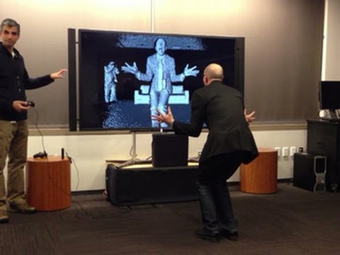 Kinect for Xbox One in action