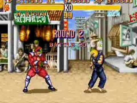 Super street figter 2 turbo (Snes)