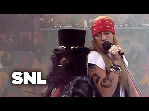 Guns N Roses: Kiddie Metal - Saturday Night Live