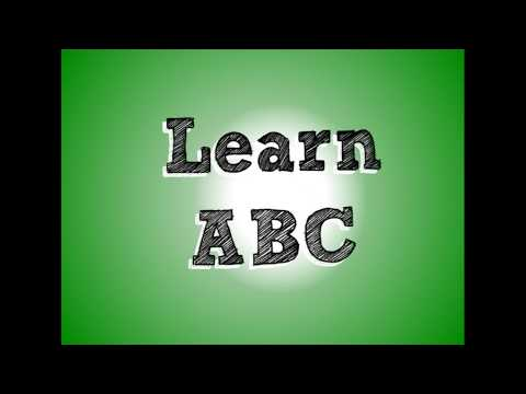 Learn ABC | Kindergarten