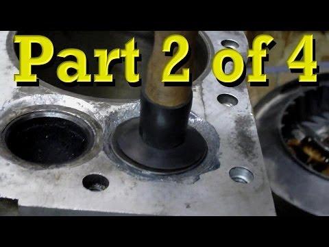 Briggs and Stratton Power Built 12.5 HP Flathead Model 28 Rebuild. Teardown / Reassembly PART 2