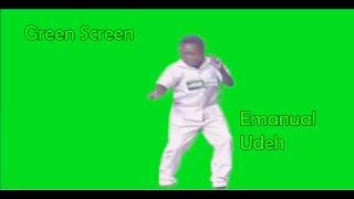 Emmanuel Udeh Dancing Green Screen