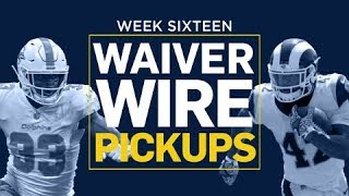 Week 16 Waiver Wire Pickups (Fantasy Football)