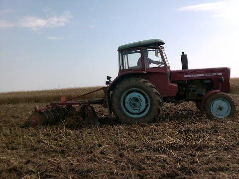 ☆ Talerzowanie Rzepaczysk ☆ Ursus C-355. Brona Talerzowa AGROMET Darłowo 2m