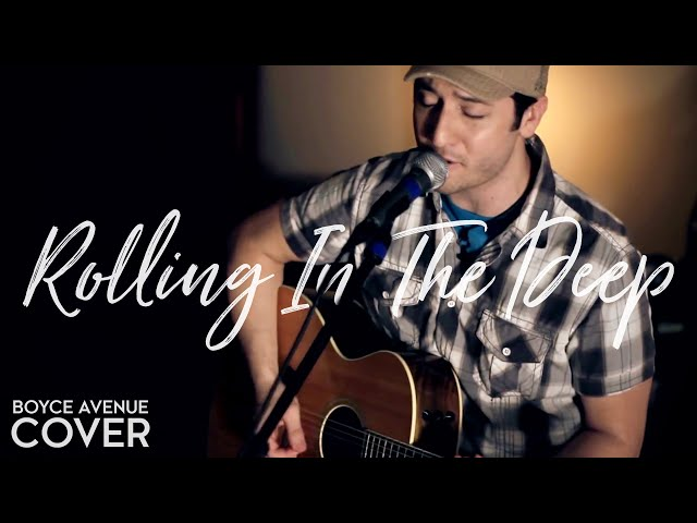Adele - Rolling In The Deep (Boyce Avenue acoustic cover) on Apple & Spotify