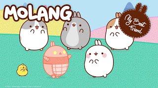 Molang Compilation #6 - #MyBestFriend - Cartoon for kids