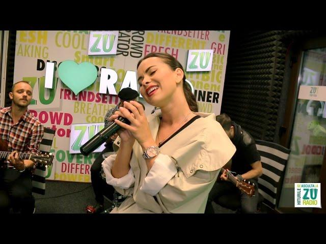 Inna - Fata din randul trei (Live la Radio ZU)