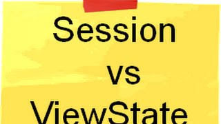 Session VS Viewstate difference ( ASP.NET Training and interview questions)