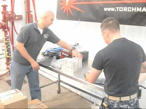 Hypertherm and Torchmate CNC Plasma Table Pre-build Inspection 11Jan2011