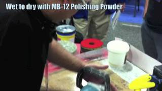 MB-12 Travertine Polishing