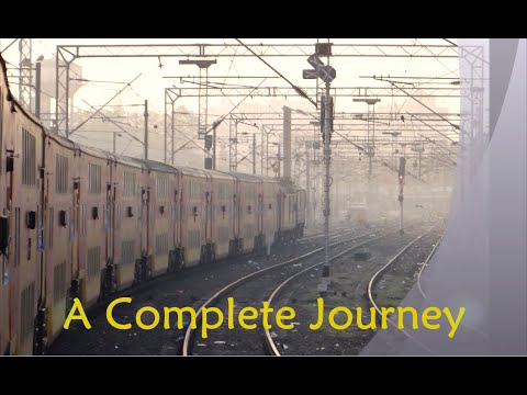 Full Journey Compilation: Ahmedabad - Mumbai Double Decker Express Part 1