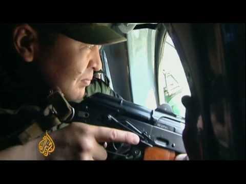 Kyrgyz leader visits south