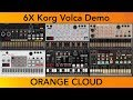 Orange Cloud | Korg Volca Demo x6