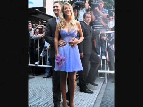 Luisana Lopilato Michael Buble wedding