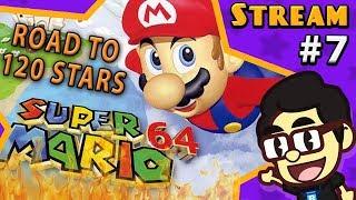 SUPER MARIO 64 (Part 7) - Balrog's Streams!