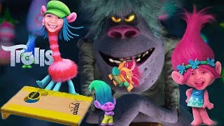 TROLLS Coin Hole Blind Bag Monday Challenge Family Game Night