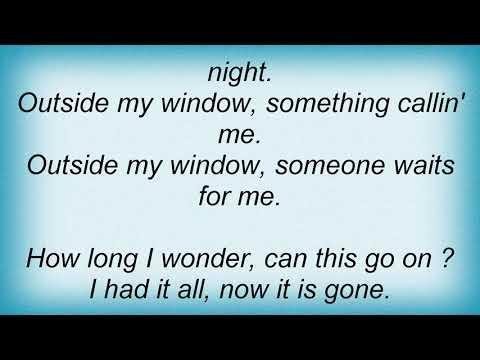 Alvin Lee - Outside My Window Lyrics