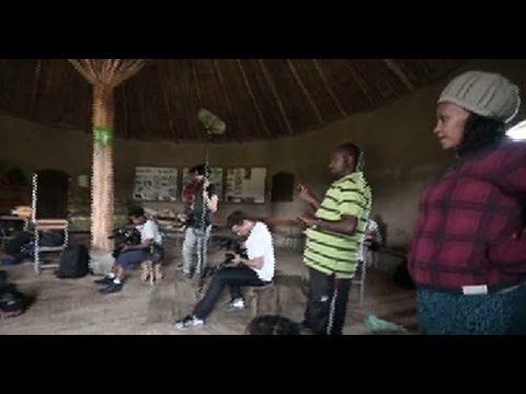 Behind Ethiopian Movie Scenes