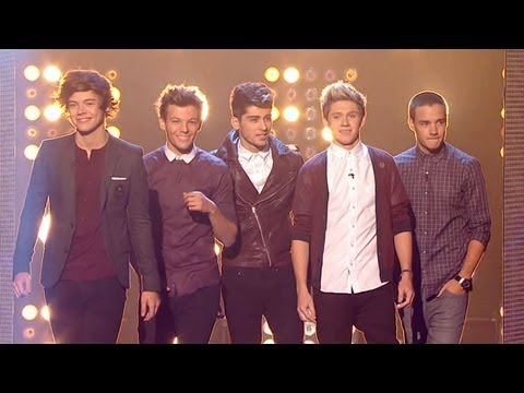 One Direction's guest appearance - The X Factor UK 2012