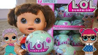 BABY ALIVE Pumpkin Opens LOL SURPRISE DOLLS!
