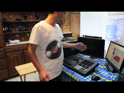 Elation CompuShow + MIDICON Rig and Review DMX SOFTWARE AND HARDWARE COMBO!