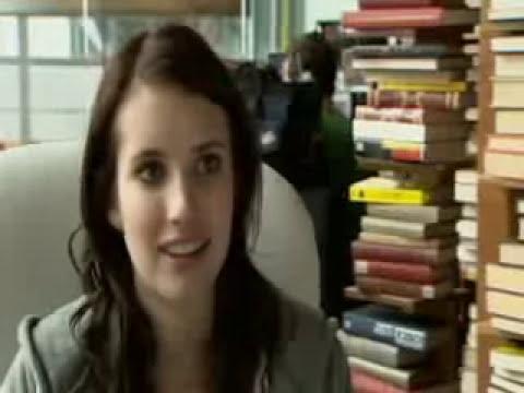 FILM 2009 - Plateau du film : 4.3.2.1 with Emma Roberts
