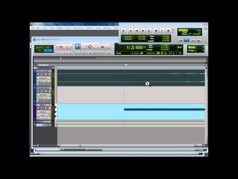 Midi & ProTools 9 Workshop - How to use and sync Midi Devices with Pro Tools