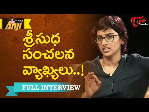 Actress Sri Sudha Exclusive Interview | Open Talk with Anji Current Topics #1 - TeluguOne