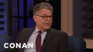 Al Franken Gets Frustrated Watching Senate Hearings - CONAN on TBS