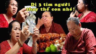 Vì sao Việt kiều lấy lại tiền mừng thọ dì 3 bán cua | Lời cảm ơn ngọt ngào dì 3 dành cho chị Thúy