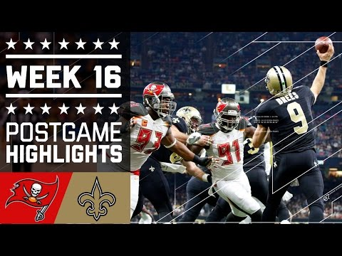 Buccaneers Vs Saints Nfl Week 16 Game Highlights