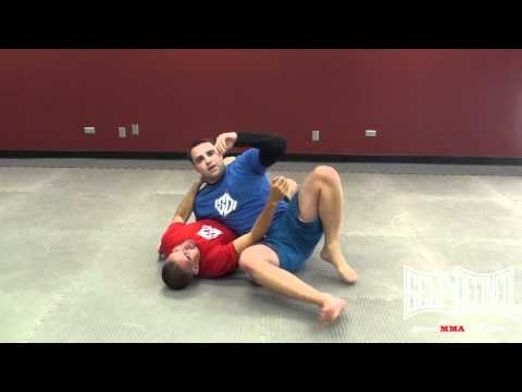 Triangle Choke - Luta Livre Side Control Submission - No Gi  Jiu Jitsu Techniques Image 1